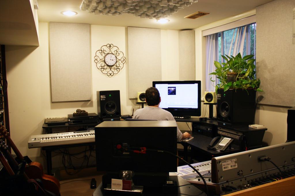 Steven Rosch Media Control Room