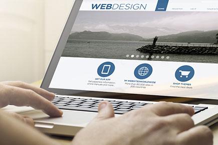web design Steve Rosch Media